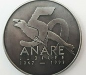 Australian National Antarctic Research Expeditions (ANARE) Golden Jubilee Medal – 1997
