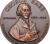 George Bass – Discovery of the Bass Strait – Commemorative Medal – 1968