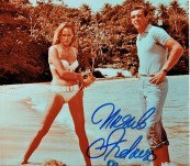 Ursula Andress & Sean Connery in Bond Movie Dr No Large promotional photograph signed by Ursula