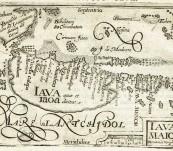 Java (Iava Maior) – Barent Langenes, Cornelis Claesz – engraved by Benjamin Wright – c1600