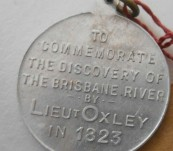 Brisbane Centenary Medal – Discovery by John Oxley  1823 -1923