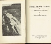 More About Cairns : Echoes of the Past – J.W. Collinson – First Limited Numbered Signed Edition