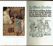 Le Morte DArthur – The History of King Arthur and His Nobel Knights of the Round Table – Sir Thomas Malory – Illustrated with 36 coloured plates by William Russell Flint. Two Volumes Bound for Bumpas, London.