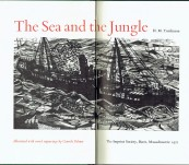 The Sea and the Jungle – H.M. Tomlinson – Special Illustrated Edition