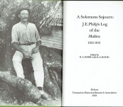 A Solomons Sojourn: J.E. Philp's Log of the Makira 1912-1913