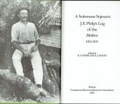 A Solomons Sojourn: J.E. Philp's Log of the Makira 1912-1913