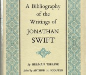 A Bibliography of the Writings of Jonathan Swift – Herman Teerink.