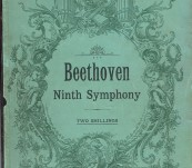 Beethoven Ninth Symphony Pianoforte Score arranged by Carl Reinecke (Choral Portion) English Translation by Rev W.T. Southward – Sir Adrian Boult's Copy dated 1910 whilst at Oxford.