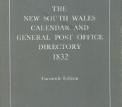 The New South Wales Calendar and General Post Office Directory – 1832
