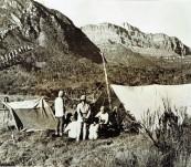 Original Press Photograph – The Archbold Expedition at Mount Wilhelmina – 1939