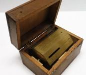 19thC Cased Brass Surveyors Cross – French Maker