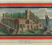Original Herculaneium Mezzotint  By Vanni – Late 18th Century
