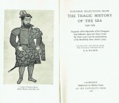 Further Selection from the Tragic History of the Sea 1559-1565