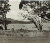Photograph from Burrow's Studios Launceston North End of Great Lake