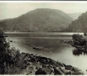 Tasmanian Period Photograph – Lake Webster Mount Field National Park.