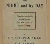 Unusual Queensland Item – Directions by Night and by Day – Simple Methods Developed for the use of Scout Troops – E. T. Holdaway FRAS and W.J. Newell