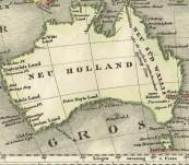 Australein und der Hinterindische Archipel c 1825