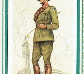 Military Uniforms of the British Empire Overseas – John Player & Sons Card series complete in rare album.