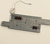 Vickers Mk1 303 M.G. [Machine Gun] Slide Rule Manufactured by W.H.H. for the Australian Forces – WWII