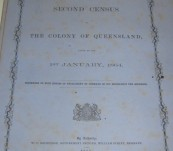 The Second Census of Queensland – 1864