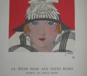 La Jeune Fille Aux Joules Roses – Gazette du Bon Ton – Ebel – 1921