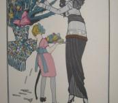 Les Preparatifs de Noel – Gazette du Bon Ton – J Goje 1914