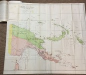 Report on the military occupation of the German New Guinea possession – 1922 – With Very Large Coloured Map