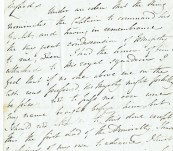 Unique Naval Item – Manuscript Letter of 1820 from Captain Henry Duncan (Son of Admiral Lord Duncan) on the Royal George to Viscount Melville (First Lord of the Admiralty) applying for the Royal Yacht