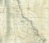 Queensland – Pugh's Almanac 1880 – With Map of Queensland – Very Good Condition – Very Scarce
