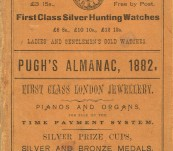Queensland – Pugh's Almanac -1882 – Very rare