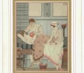 Medical Classical Erotic Prints – Hippocrates Pochoir – Kuhn Regneir – 1932 (Voyager Number 4)