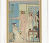 Medical Classical Erotic Prints – Hippocrates Pochoir – Kuhn Regneir – 1932 (Voyager Number 2)