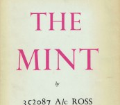 The Mint – First Edition 1955 – T.E. Lawrence as 352087 Ross