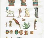 Original Copper Engraving – Egyptian Incunculae – Thomas Shaw – 1736