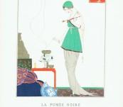 La Fumee Noire – Gazette du Bon Ton Pochoir – Strimple – 1914