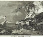 Easter Island Monuments – Cook's Second Voyage – Benard Paris 1785