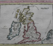 La Grande Bretagne et Ireland – Chatelain – 1717