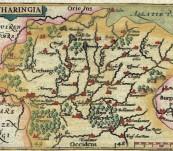 The Region of Lorraine (Lotharingia) France – Petrus Bertius – Published 1603