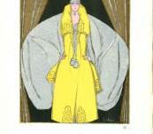 Antinea – Gazette du Bon Ton Pochoir by George Lepape – 1920