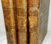 The Works of Andrew Marvell. Poetical, Controversial and Political, containing many Original Letters, Poems, and Tracts, never Before Printed. With a New Life of the Author, by Capt. Edward Thompson. 3 Quarto Volumes 1776