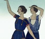 Les Voila! – Gazette du Bon Ton Pochoir – Andre Marty -1920