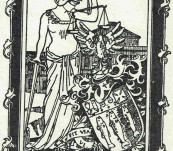 Bookplate of Sir Samuel James Way Bart – Chief Justice c1910