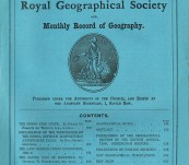 The Proceedings of the Royal Geographical Society (Hannibal's Route over the Alps and African Exploration ) – October 1886.
