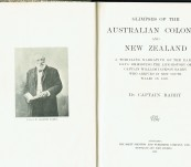 Glimpses of the Australian Colonies  and New Zealand – Captain Barry – First edition 1903