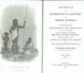 Journals of Expeditions into Central Australia and Overland from Adelaide to King George's Sound in the years 1840-1 in  2 Volumes –  John Eyre