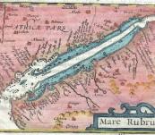 Mare Rubrum (The Red Sea) – Petrus Bertius -1602
