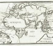 Eastern Hemisphere with Australia – La Division de Nostre Ocean – Philippe Briet – 1648