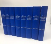 Lawrence of Arabia – The Journal of the T.E. Lawrence Society – Long Unbroken Run of 46 Issues – Bound and in Fine Condition.