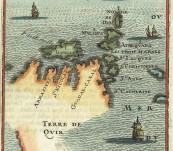 Solomon Islands with the Unusual Fictitious Terre de Qvir – Mallet – 1683