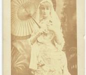French Thetrical Legend – Sarah Bernhardt – Signed Manuscript Letter 1887, Photographic Portrait and Ephemera